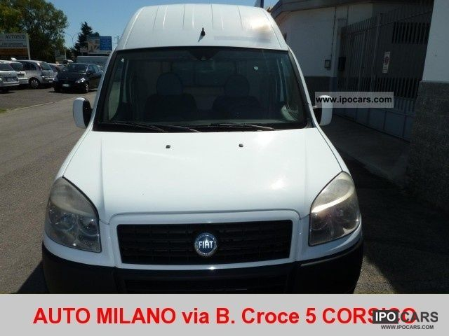 2006 Fiat  Doblò 1.9 MJ Doblo Cargo Lamierato PC-TA SX TETT Other Used vehicle photo