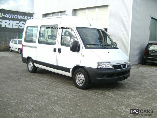 2006 fiat ducato kombi 9 seater car photo and specs. Black Bedroom Furniture Sets. Home Design Ideas
