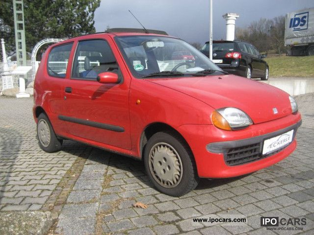 2000 Fiat  Hobby Seicento 1.1 Ragtop Small Car Used vehicle photo