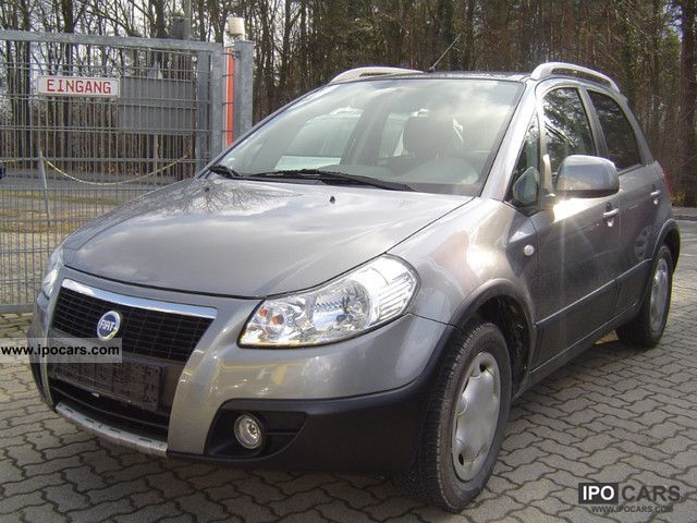 2006 Fiat  Sedici 1.6 16V 4x4 APC 1.Hand 8X frosted with aluminum Limousine Used vehicle photo