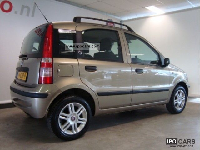 2008 fiat panda 1 2 young car photo and specs. Black Bedroom Furniture Sets. Home Design Ideas
