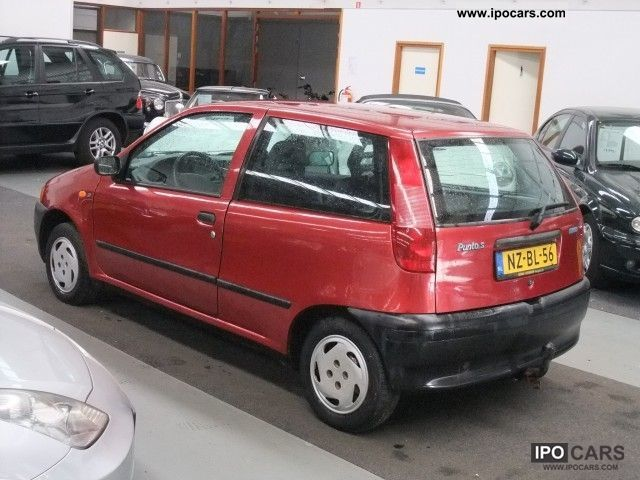 1996 fiat punto 1 2 8v s 97889 km met nap car photo and specs. Black Bedroom Furniture Sets. Home Design Ideas