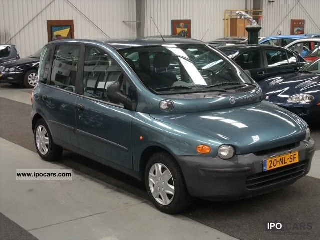2003 fiat multipla 1 6 16v elx car photo and specs. Black Bedroom Furniture Sets. Home Design Ideas