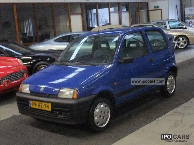 1996 Fiat  Cinquecento 900 I.e. S Small Car Used vehicle photo
