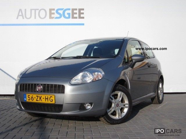 2008 Fiat  Grande Punto 1.4 8v 78Pk? Grand Prix / Airco / LMV / A Small Car Used vehicle photo