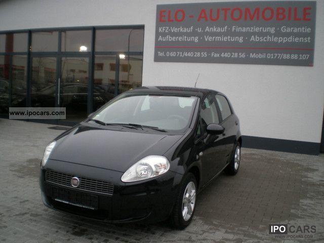 2008 Fiat  Grande Punto 1.4.Klima, multi steering wheel, BC. Small Car Used vehicle photo