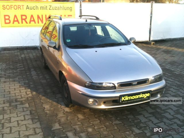 1998 Fiat  Marea Weekend 1.6 16V ELX = AIR = EFH = GOOD ZUSTAN Estate Car Used vehicle photo