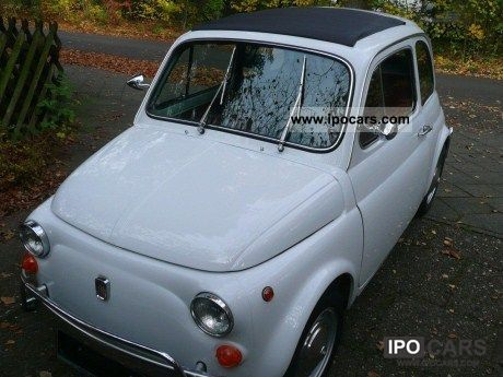 Fiat  500 L Sedan, restored, Hohlraumkon 1972 Vintage, Classic and Old Cars photo