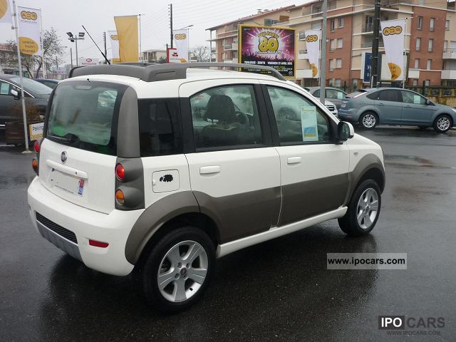 2010 fiat panda 3 1 4x4 cross jtd70 mjt car photo and specs. Black Bedroom Furniture Sets. Home Design Ideas