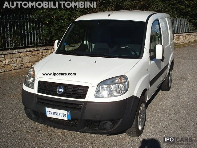 Fiat  Doblo 1.6 16V Doblo Nat.Pow. PC-TN Carg.Lam.SX 2007 Compressed Natural Gas Cars (CNG, methane, CH4) photo