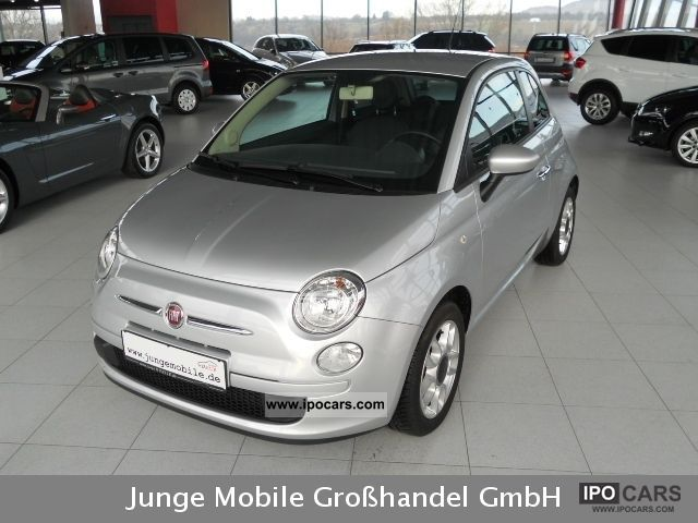 2010 Fiat  500 1.2 Start & Stop with air sports, LM, Blue & Me Small Car Used vehicle photo