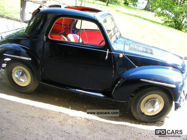 Fiat  500 topolino 1953 Vintage, Classic and Old Cars photo