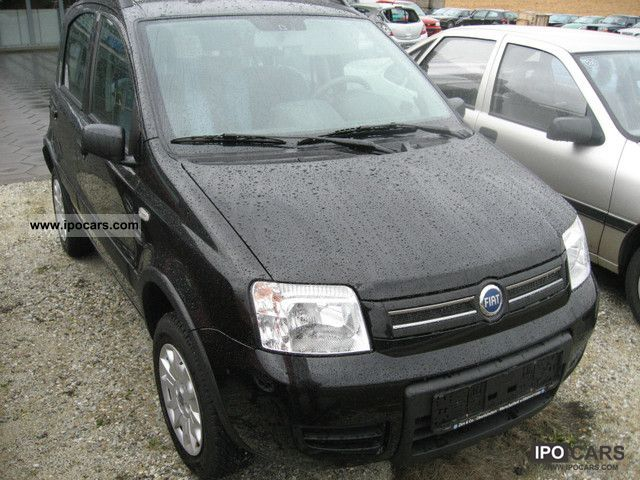2007 fiat panda 1 3 multijet diesel 4x4 car photo and specs. Black Bedroom Furniture Sets. Home Design Ideas