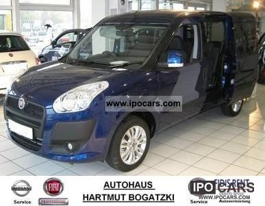 Fiat  Doblo 1.4 16V Natural Power Dynamic (Blue & Me + LM) 2011 Compressed Natural Gas Cars (CNG, methane, CH4) photo