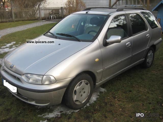 2002 Fiat  Palio Weekend, 2.Hand, air, Euro3, Orig.114TKM Estate Car Used vehicle photo