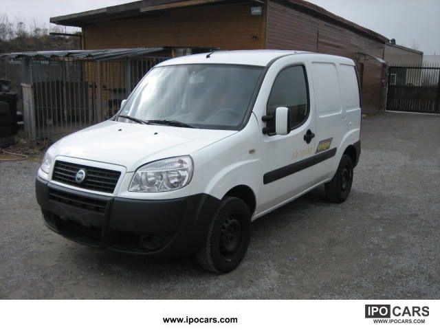 Fiat  Doblo 1.6 16V Natural Power Truck acceptance files! 2005 Compressed Natural Gas Cars (CNG, methane, CH4) photo