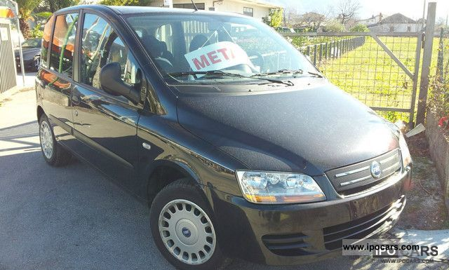 Fiat  Multipla 1.6 16V Natural Pow.Dynamic 2005 Compressed Natural Gas Cars (CNG, methane, CH4) photo