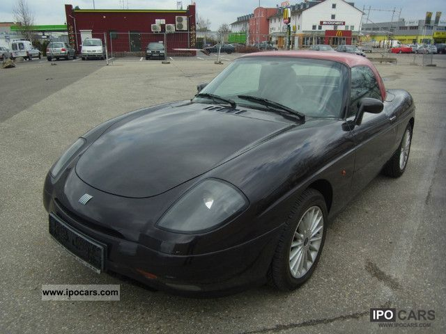 1999 Fiat  New Leather Hardtop Barchetta 8.1 TÜV / AU Cabrio / roadster Used vehicle photo