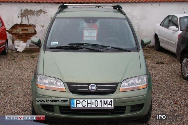 2005 Fiat  Idea 1.3 JTD KLMIATRONIC CD REJ.PL Small Car Used vehicle photo