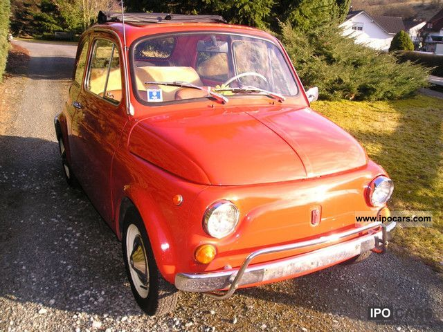 Fiat  500 1972 Vintage, Classic and Old Cars photo