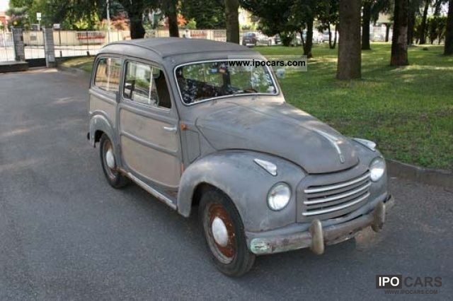 Fiat  500C Belvedere 1954 Vintage, Classic and Old Cars photo