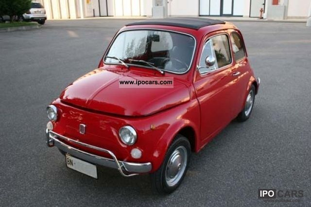 Fiat  500 L 1969 Vintage, Classic and Old Cars photo