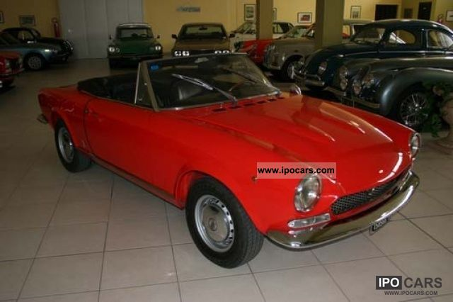 Fiat  124 Spider 1600 1971 Vintage, Classic and Old Cars photo
