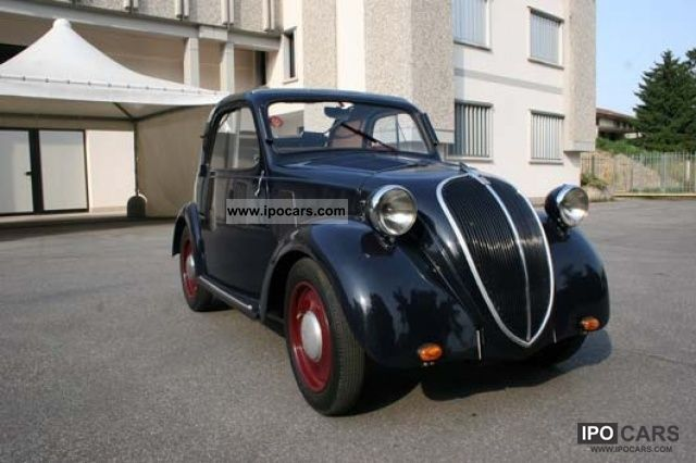 Fiat  500 A Topolino 1947 Vintage, Classic and Old Cars photo