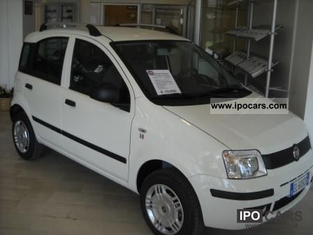 Fiat  Panda Natural Power Classic 2012 Compressed Natural Gas Cars (CNG, methane, CH4) photo