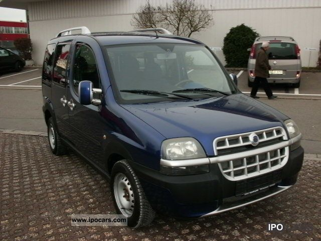 2002 Fiat Doblo 19 Jtd Malibu Euro3 Air Car Photo And Specs
