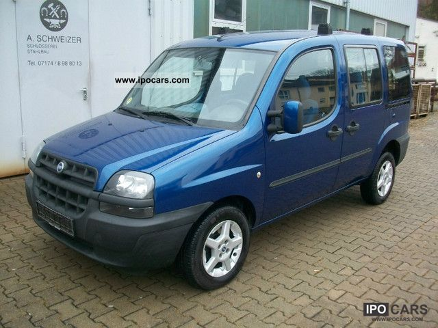 2004 fiat doblo 1 9 jtd family aluminum air euro 3 1 hand car photo and specs. Black Bedroom Furniture Sets. Home Design Ideas