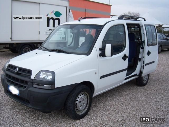 2003 fiat doblo 1 9 jtd active car photo and specs. Black Bedroom Furniture Sets. Home Design Ideas