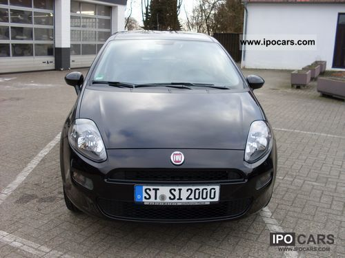 2012 fiat pop stop start punto car photo and specs. Black Bedroom Furniture Sets. Home Design Ideas