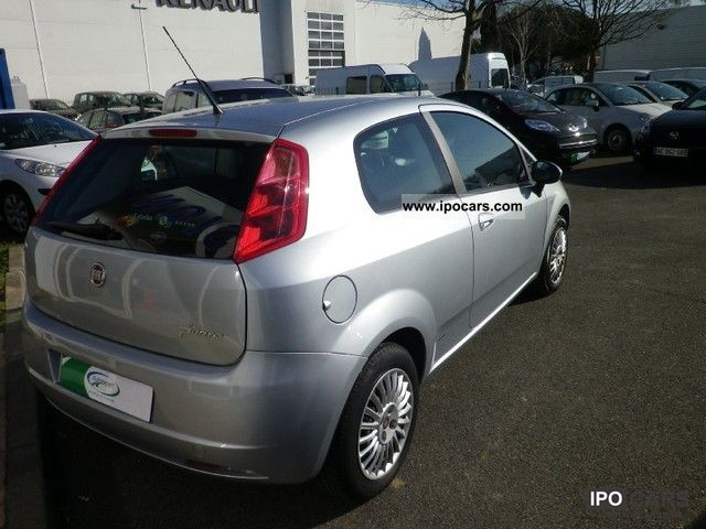 2008 fiat grande punto 1 3 dynamic jtd75 mjt 3p car photo and specs. Black Bedroom Furniture Sets. Home Design Ideas