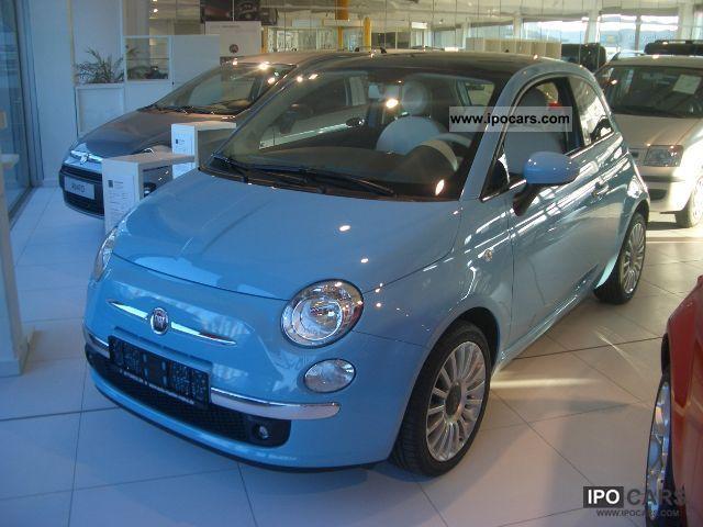 2011 Fiat  500 0.9 Start & Stop 86 HP TwinAir Lounge GLASDA Small Car Demonstration Vehicle photo