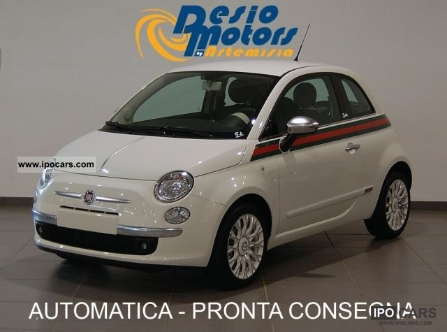 2011 Fiat  500 1.2 * BY GUCCI Limousine New vehicle photo