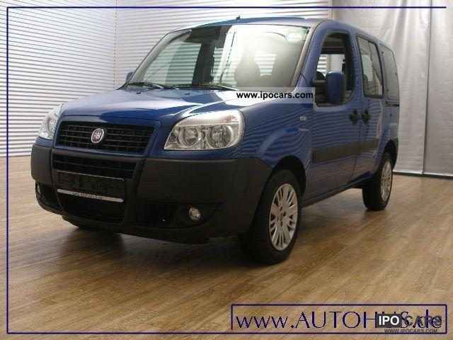 2008 Fiat  Doblo 1.3 7-SEATER FAMILY MULTIJET AIR Estate Car Used vehicle photo