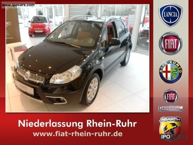 2011 Fiat  Sedici 1.6 16V 4x4 Luxury Limousine New vehicle photo