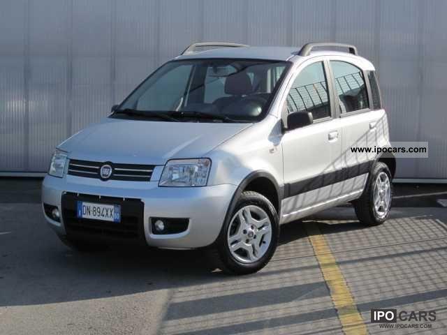 2008 Fiat  2 ª serie Panda 2.1 Climbing Natural Power Limousine Used vehicle photo