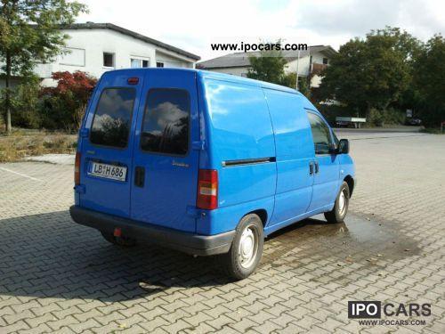 2003 Fiat  Scudo EL 222.247.0 Van / Minibus Used vehicle photo