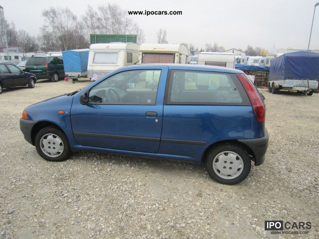 1998 fiat punto 55 top state car photo and specs