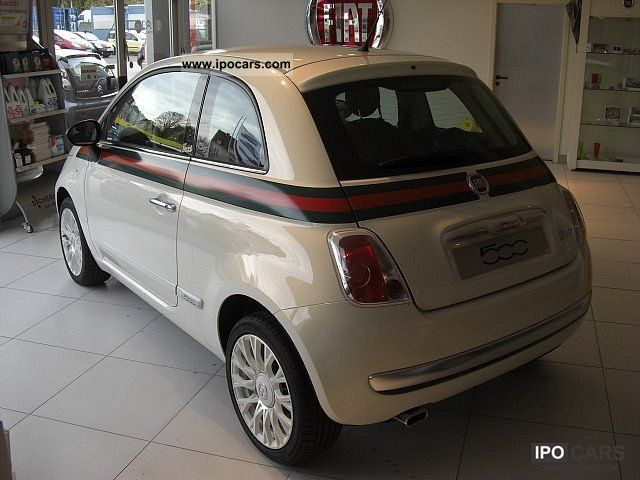 2007 Fiat  500 1.2 8v \Leather, alloy wheels u.v.m. Limousine New vehicle photo