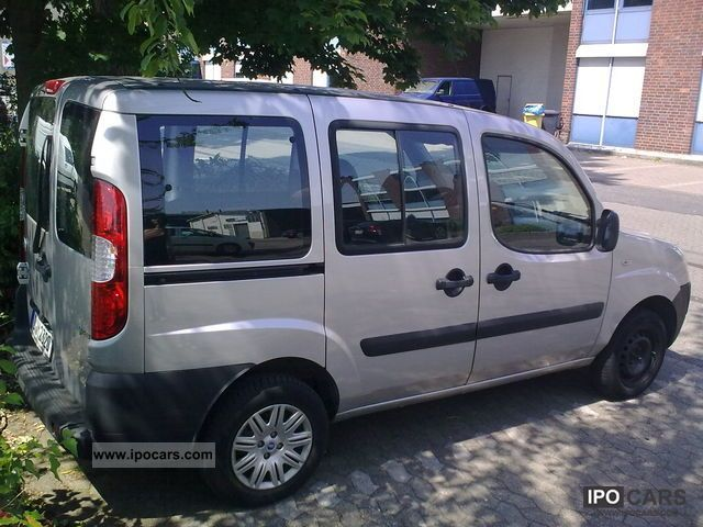 Fiat  Doblo 1.6 16V Natural Power 2006 Compressed Natural Gas Cars (CNG, methane, CH4) photo