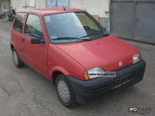1995 Fiat  Cinquecento TUV. 11/2012 Small Car Used vehicle photo