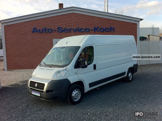 2006 Fiat  Ducato Maxi L3H2 * AIR * VAT * out * SH * 2.HD Van / Minibus Used vehicle photo