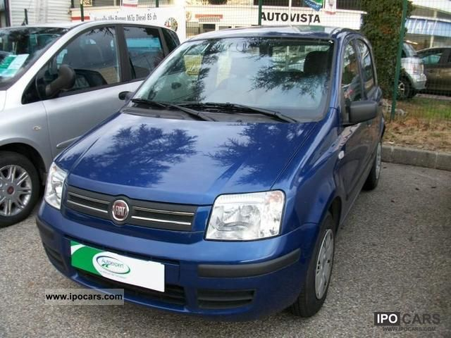 2009 fiat panda 1 2 8v dynamic car photo and specs. Black Bedroom Furniture Sets. Home Design Ideas