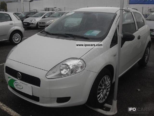 2010 Fiat  Grande Punto 1.2 8v Cult 3p Limousine Used vehicle photo