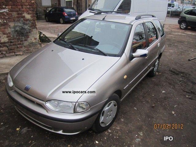 2002 Fiat  Palio Weekend - 97 TKm Estate Car Used vehicle photo