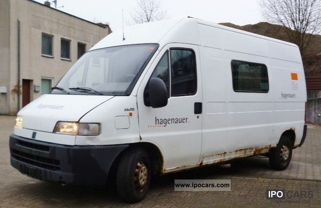 2001 fiat ducato 2 8 jtd 6 high seater long car photo and specs. Black Bedroom Furniture Sets. Home Design Ideas