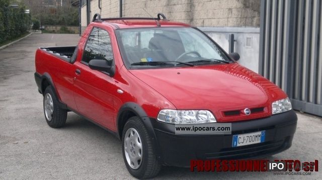2003 fiat strada 1 9 jtd cab pick up lunga car photo and specs. Black Bedroom Furniture Sets. Home Design Ideas